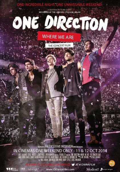 One Direction: Where We Are - The Concert Film (2014)
