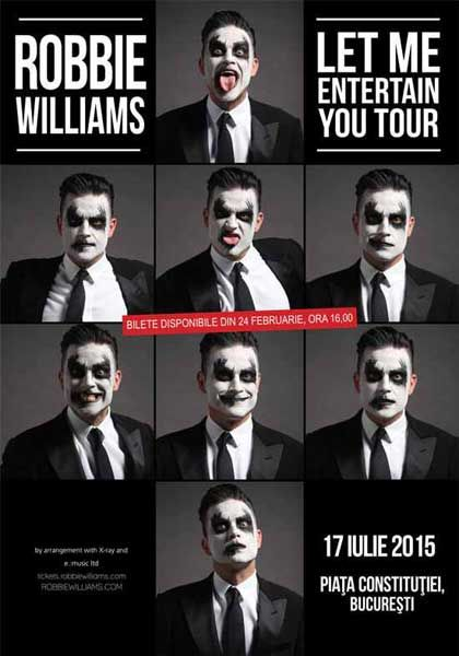 Robbie Williams - Let Me Entertain You Tour